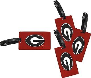 Georgia Bulldogs荷物タグ4?-パック