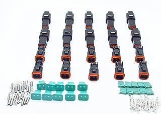 in Acciaio Inox Kit estrattore di Cavi elettrici per Auto Hamkaw 18 Pezzi per la Maggior Parte dei terminali dei connettori con Custodia in Tessuto Impermeabile