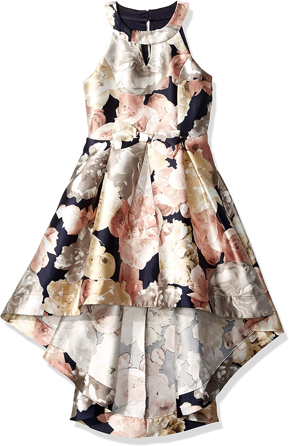 Speechless Sales for sale Girls' Sleeveless High-Low Max 76% OFF Dress Taffeta Party