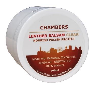 Chambers Leather, balsamo naturale, 200ml, White, 200ml