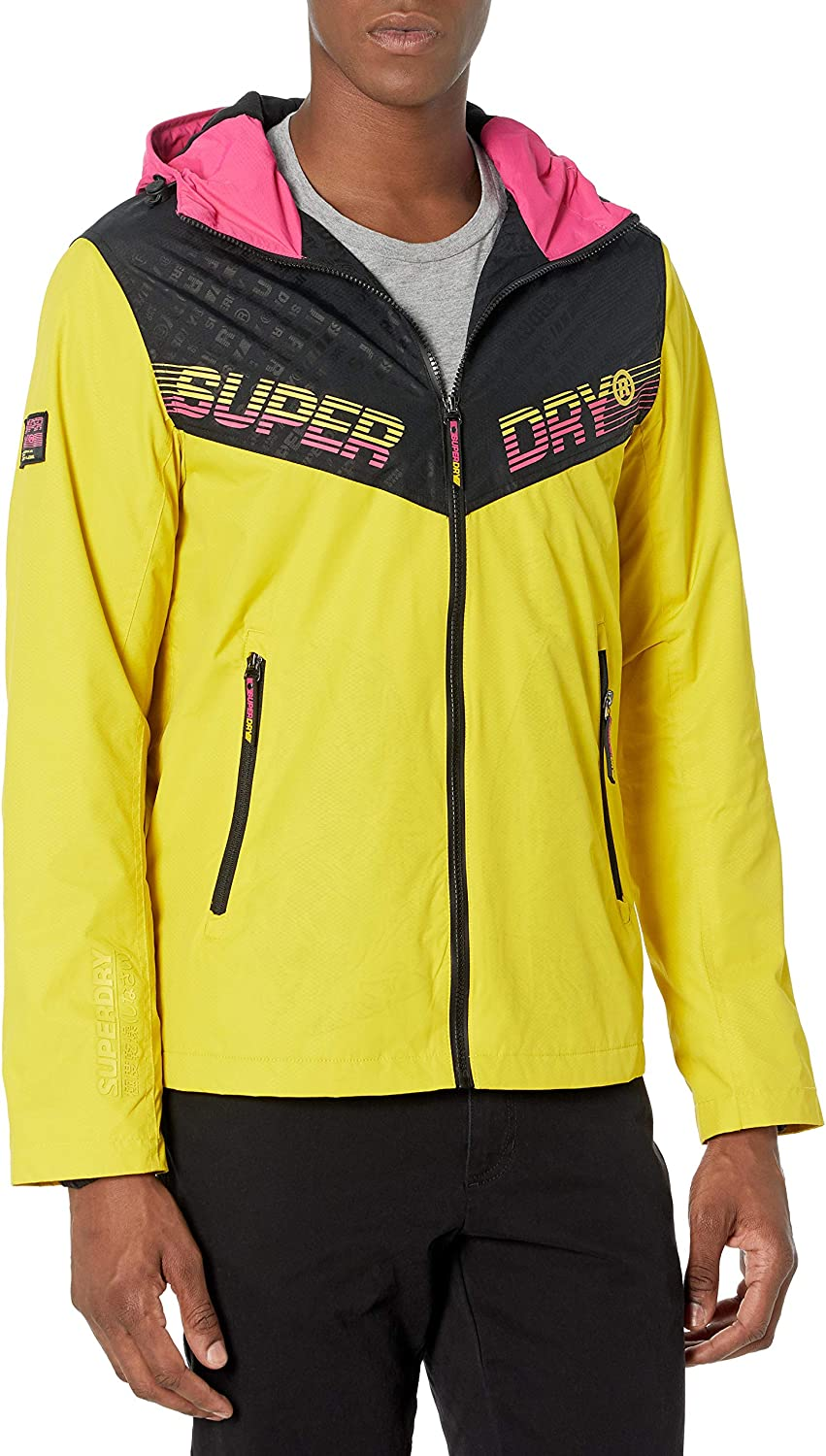 Over item handling ☆ Challenge the lowest price of Japan ☆ Superdry mens Axis Jacket