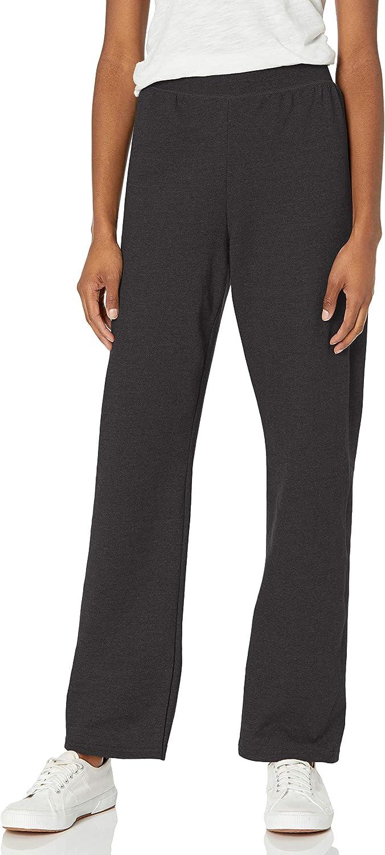 Hanes Women's It is very popular EcoSmart Open Indefinitely Sweatpants Bottom Leg