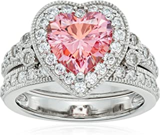 Best pink heart shaped ring Reviews