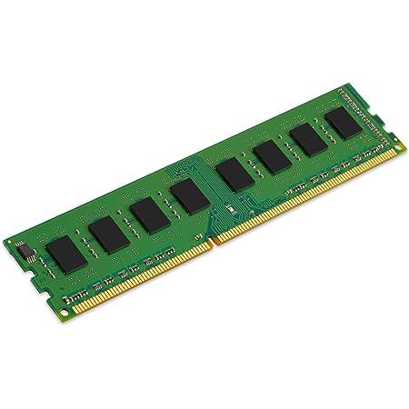 Kingston KCP316NS8/4 Memoria Ram 4GB DDR3 1600MHz Dimm Non-ECC CL11 X8 1.5V Unbuffered 240 Pin