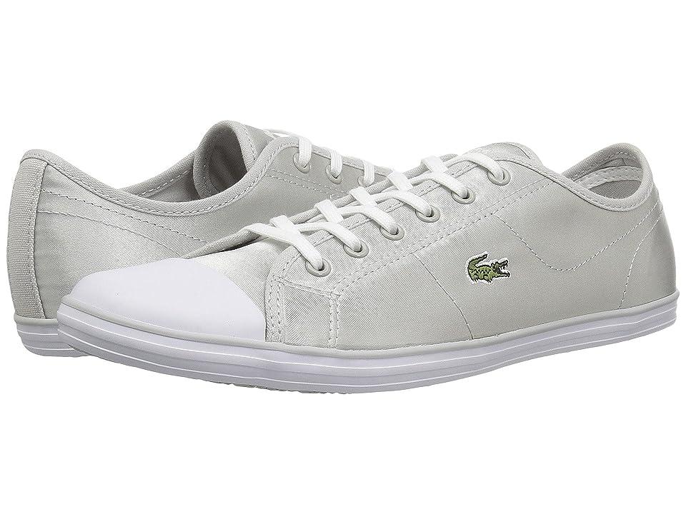 Lacoste Ziane Sneaker 118 2 (Silver) Women