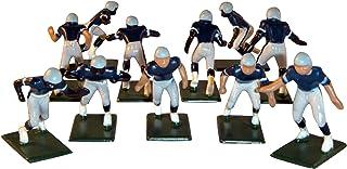 Electric Football 11 Regular Size Men in Dark Blue Light Blue Grey Home Uniform