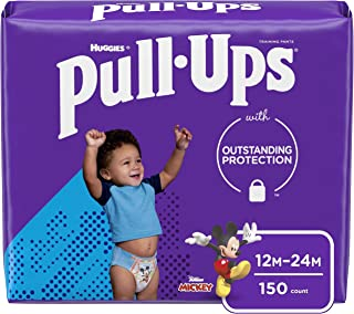 Pull-Ups Learning Designs Boys` Training Pants, 12-24M, 150 Ct