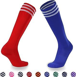 Red Knee Length Socks