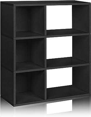 10 F/ächer wei/ß Raumteiler GOPLUS Treppenregal Aktenregal aus Holz Stufenregal Standregal B/ücherregal 131,5x131,5x27,5cm