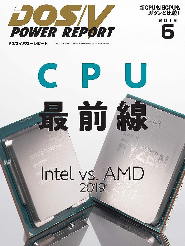 ジュニア約側面DOS/V POWER REPORT (ドスブイパワーレポート)  2019年6月号[雑誌]