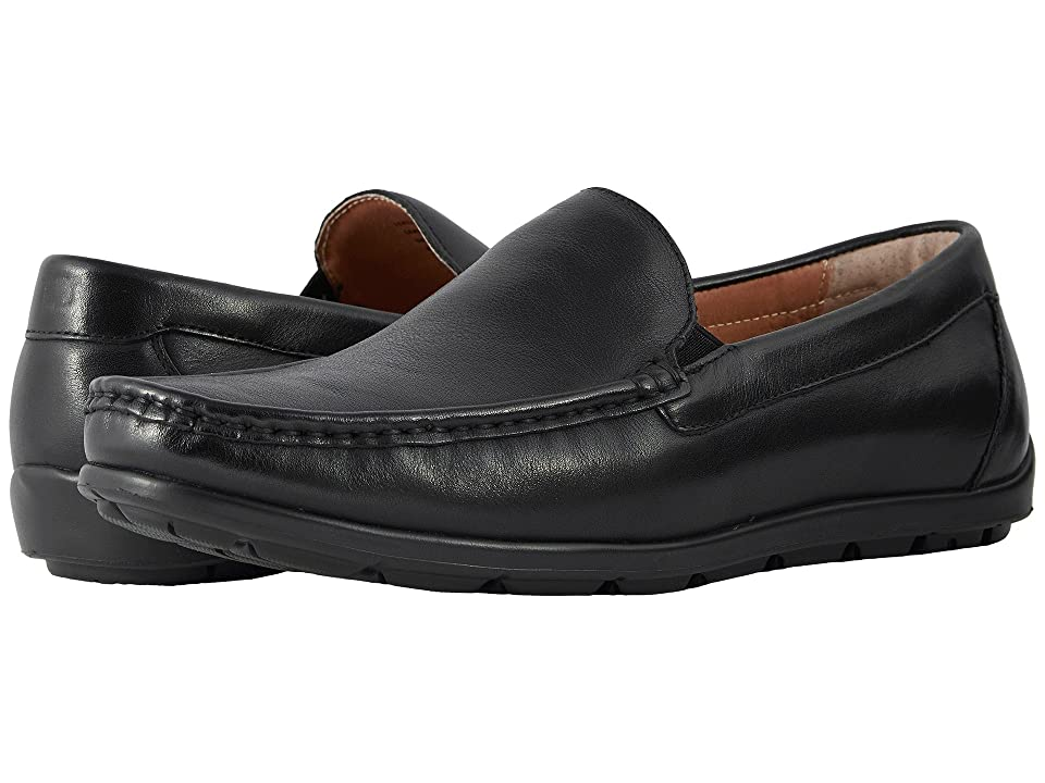Florsheim Draft Moc Toe Venetian Driver (Black Smooth) Men