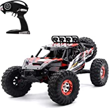 Brushless High Speed RC Car, Keliwow 1/12 Scale 4WD 35 MPH High Speed Off-Road RC Truck 2.4Ghz Rock Crawler RTR Desert-7 (#07-Red)