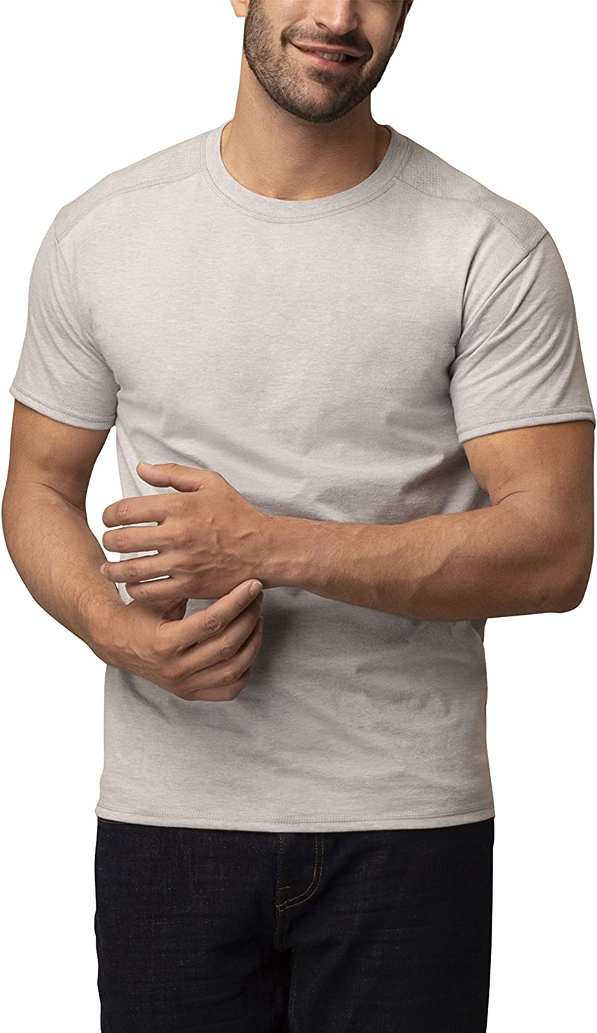 Fruit of the Loom Men's Now free shipping 2 Coolzone T-Shirt Crew Max 86% OFF Pack