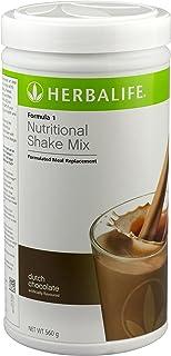 Herbalife Formula 1 Nutritional Shake Mix, Dutch Chocolate, Net Wt. 27.5 OZ. (780G)