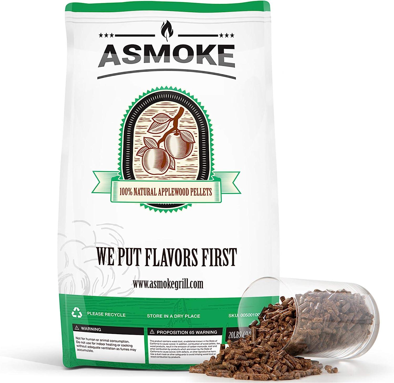 ASMOKE Wood Pellets for Smoker Grill