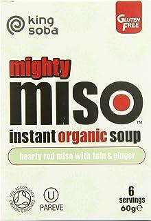 King Soba Org Miso Soup Tofu Ginger 60 g (order 10 for trade
