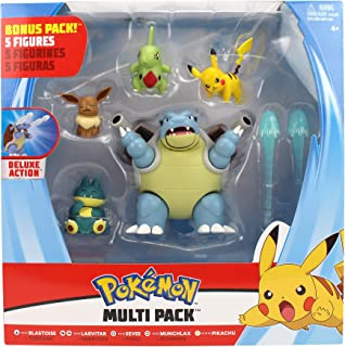 Pokémon Battle Figure 5 Pack, Multi Color, 98122, Pokemon