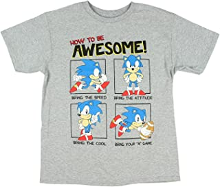 Sonic the Hedgehog How To Be Awesome Big Boys T-Shirt