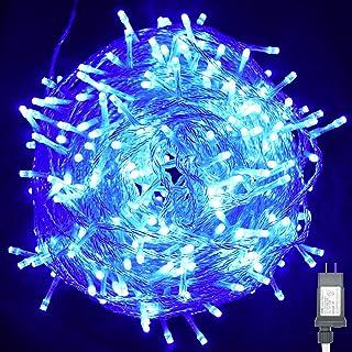 Vofler String Lights, Plug in 300 LED 100 ft/30M [UL Listed] [Weatherproof] [8 Modes] Decorative Lighting for Bedroom Pati...