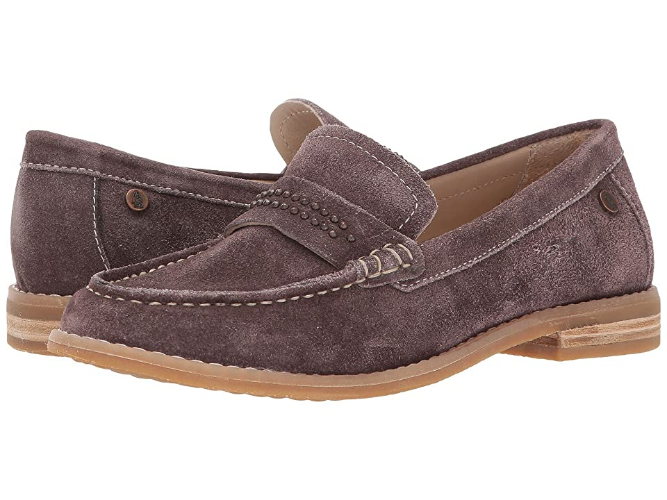 Hush Puppies Aubree Chardon (Dark Brown Suede) Women