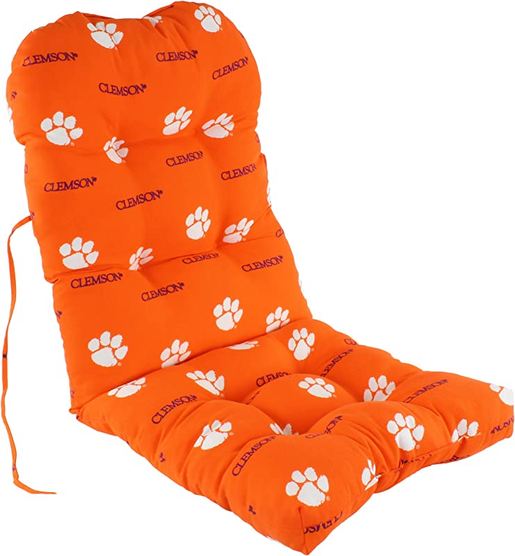 College Covers Clemson Tigers Adirondack Chair Cushion One Size Team Colors