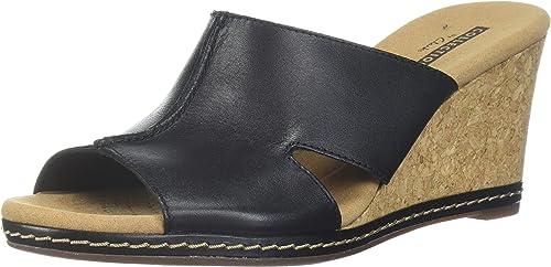 Clarks Wohommes Lafley Mio Platform, noir Leather, 10 10 Medium US  commander en ligne