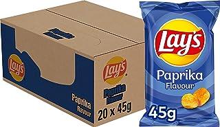 Lay's Paprika Chips, Doos 20 stuks x 45 g