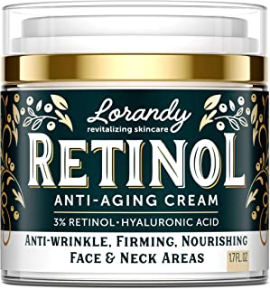 Retinol Cream for Face - Made in USA - Retinol Moisturizer Anti-Aging Cream for Women - Wrinkle Cream - Face Cream with Re...