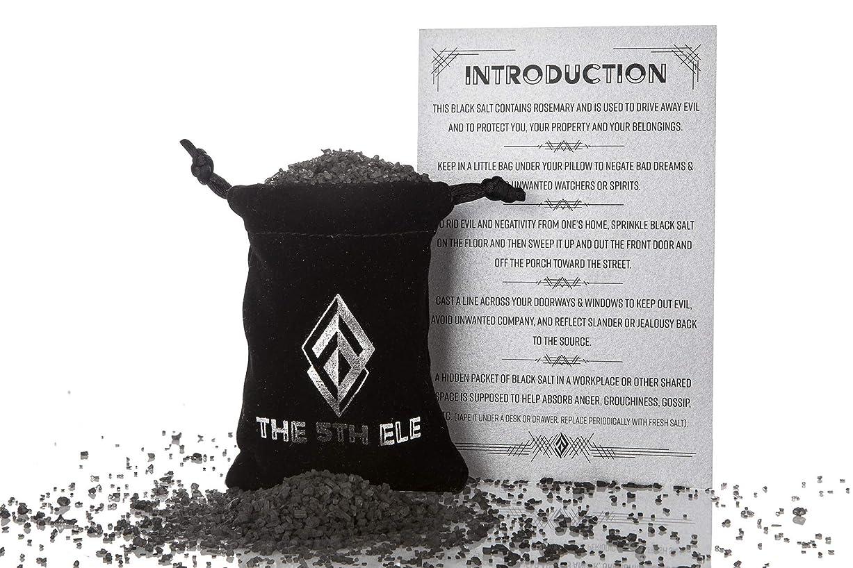 火山の望みマッシュ邪悪な保護と運転のためのブラックソルト(50g/1.76オンスバッグ)。