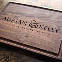 Engraved Wedding Round Vintage Personalized Cutting Board Corporate Gifts Anniversary Housewarming Keepsae,Birthday Award Promotion #010