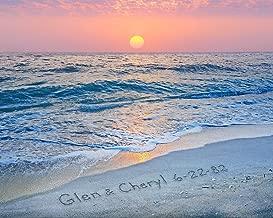 Sunset Beach Personalized Art