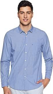 Indigo Nation Men's Solid Regular fit Casual Shirt