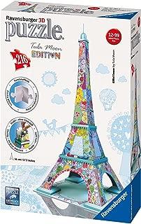 Ravensburger Tula Moon: Eiffel Tower - 3D Puzzle (216-Piece)