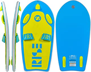 ZUP Rise and Surf All-in-One Watersports Board, Wakeboard, Kneeboard, Wakesurf Board, Water Skis for Water Sports, Boating, Blue
