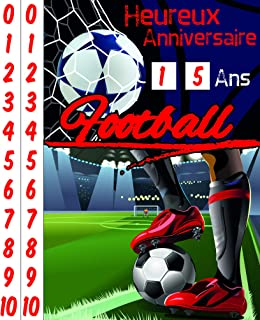 Amazon Fr Carte Anniversaire Foot