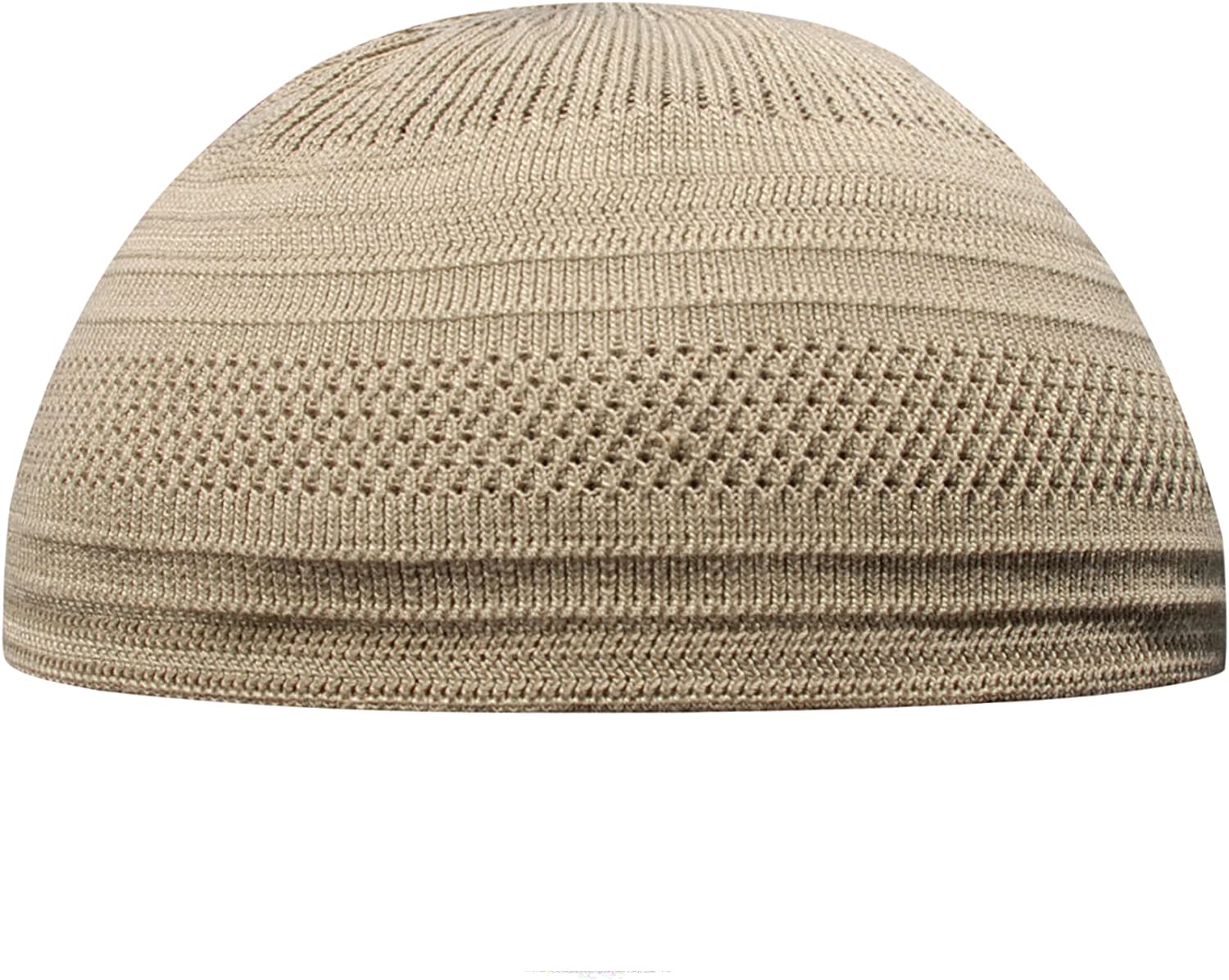 Silver Grey Cotton safety Stretch Knit Kufi Hat - National uniform free shipping Skull Cap Comfortable