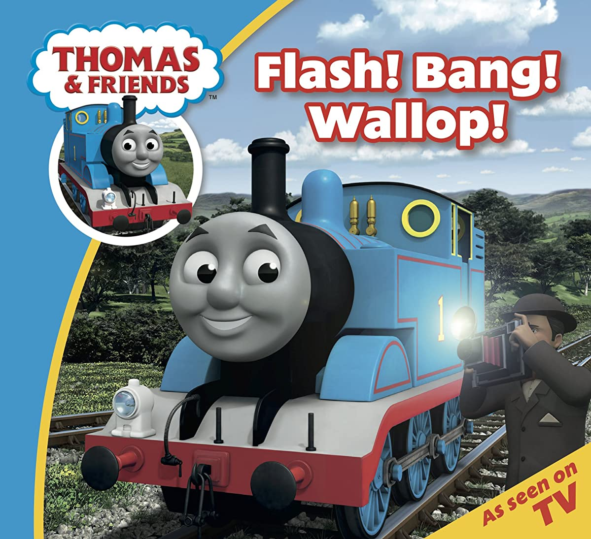 セクション毒性見積りThomas & Friends: Flash! Bang! Wallop! (Thomas & Friends Story Time Book 3) (English Edition)