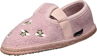 HAFLINGER Unisex Adults Slipper Honey Mule, Rosenholz, 10 UK