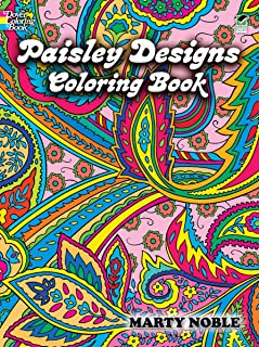 Dover Publications-Paisley Designs Coloring Book/ Sold as a pack of 1