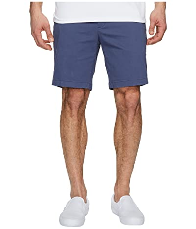 Nautica Classic Fit Stretch Deck Shorts (Blue Indigo) Men