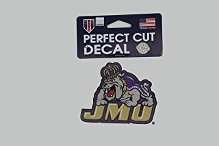 FGCSports James Madison University Dukes JMU NCAA 4x4 Die Cut Decal