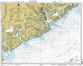 Map - Charleston Harbor And Approaches, 1997 Nautical NOAA Chart - South Carolina (SC) - Vintage Wall Art - 44in x 36in