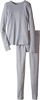 Fruit of the Loom Boys Waffle Thermal Underwear Set