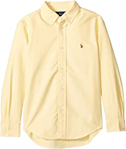 Cotton Oxford Sport Shirt (Little Kids/Big Kids)