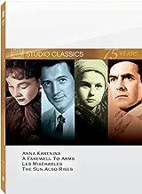 Classic Quad - Set Three: (Anna Karenina / A Farewell to Arms / Les Miserables / The Sun Also Rises)