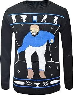Unisex Hotline Bling Drake Knitted Jumper Christmas Fun Jumper