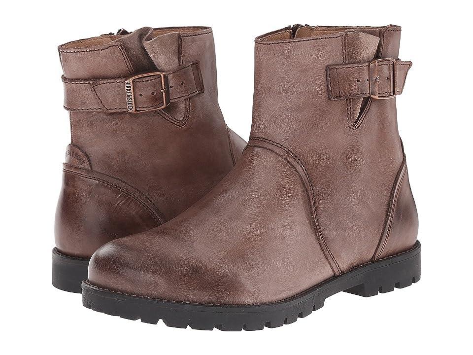 Birkenstock Stowe (Dark Brown Leather) Women