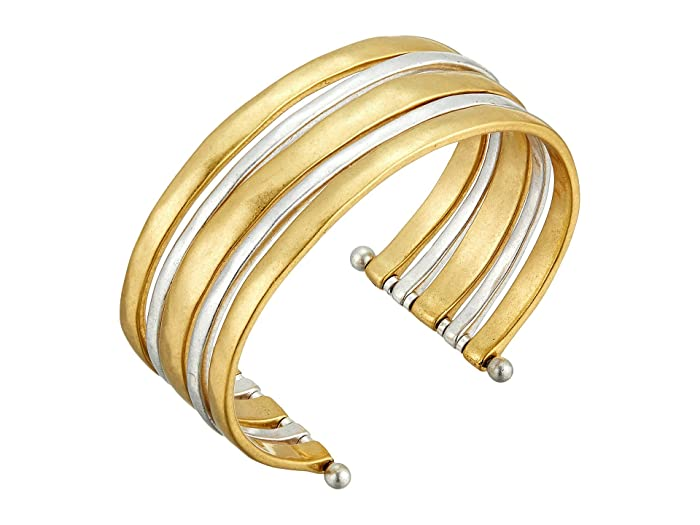 Lucky Brand  Cuff Bracelet II (Two-Tone) Bracelet