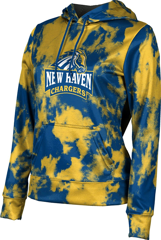University of New Haven Girls' Pullover Hoodie, School Spirit Sweatshirt (Grunge)