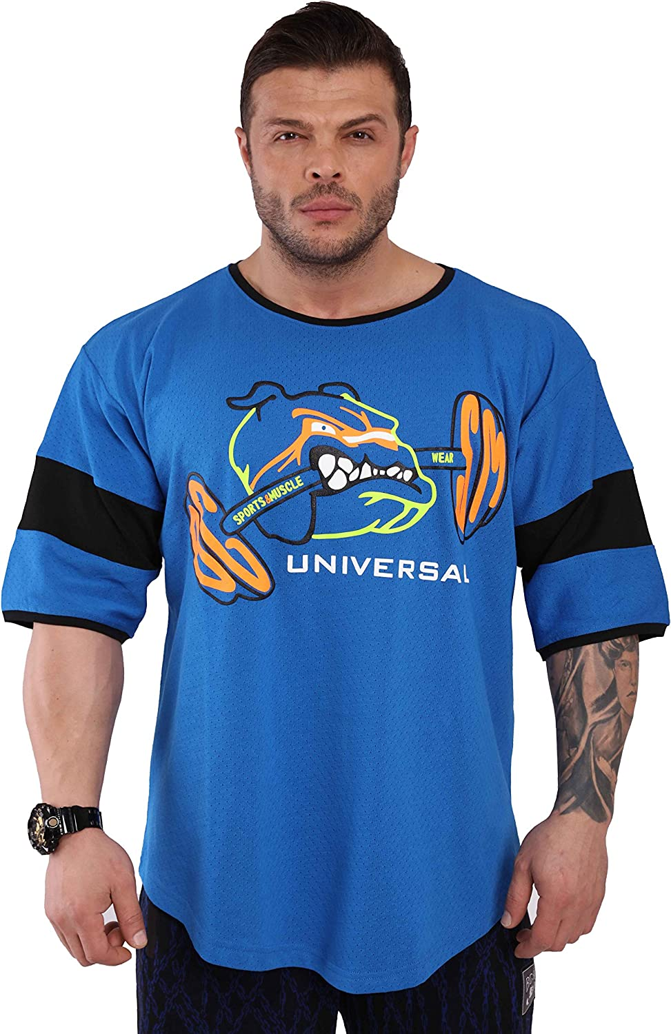 Men's Workout T-Shirt Oversize Cotton Top Sleeve Short Don't miss At the price of surprise the campaign Mesh